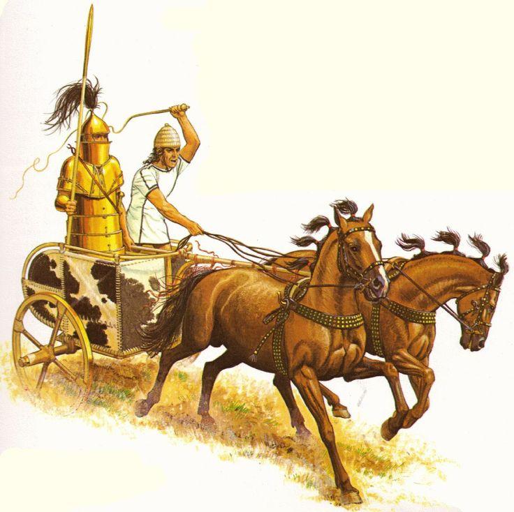 Картинки древних колесниц