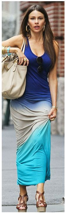 Luuuv summers in NYC. #ombre #maxidress #YFB