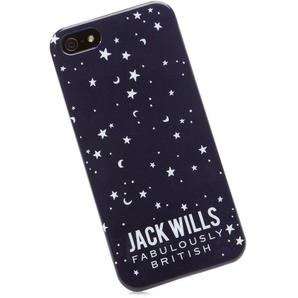 Jack Wills Pentridge Phone Case For Iphone 5 found on Polyvore