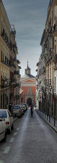 Mi primera calle de Madrid... San Cosme y San Damián