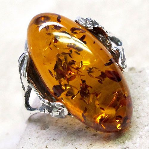 Amber ring - gorgeous!