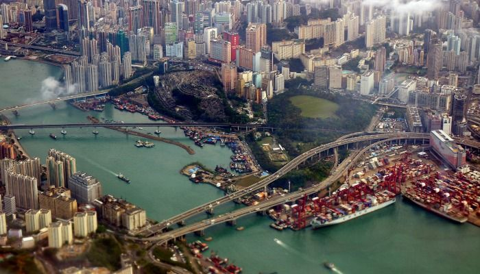 Hong Kong is beautiful, especially from the sky - http://www.dealchecker.co.uk/blog/2014/08/19/scenic-airport-landings/?_$ja=tsid:39621