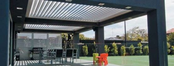 Cool Idea for Patio - Opening Roofs by Louvretec