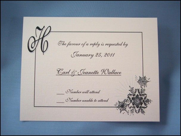 Formal Reply to Wedding Invitation