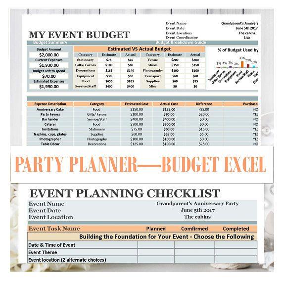Best 25+ Wedding spreadsheet ideas on Pinterest | Wedding budget ...