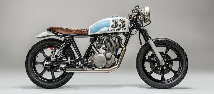 """WHO DARES WINS"" YAMAHA SR500"