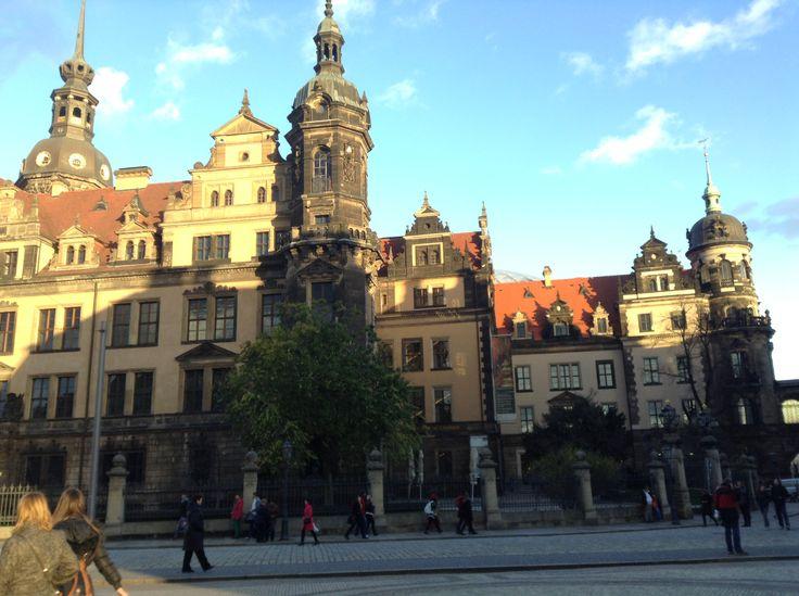 Dresden – старинный город на Эльбе