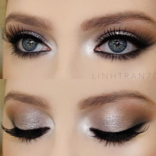 Makeup For Gray Hair Green Eyes Mugeek Vidalondon