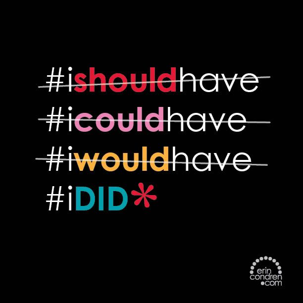 #ishouldhave #icouldhave #iwouldhave #IDID #ecquotes