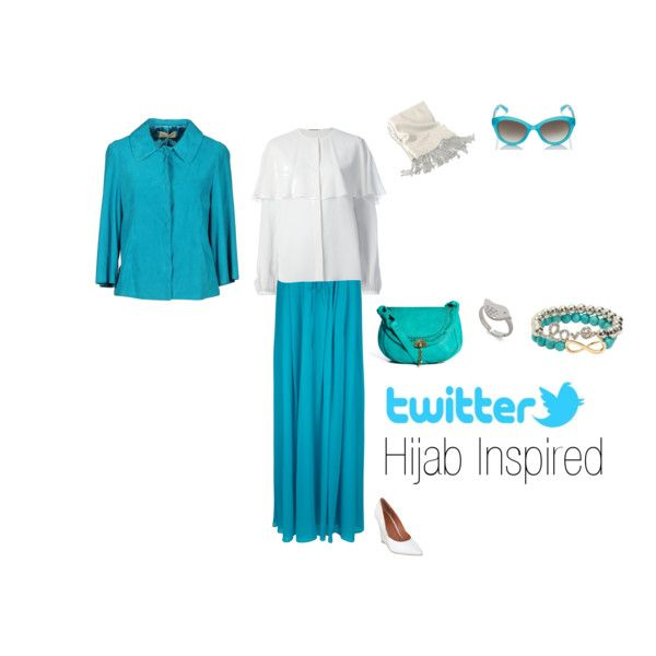 """""""Twitter Hijab Inspired"""" by fabsmusician on Polyvore"""