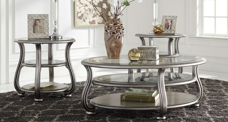 Coralayne Occasional Table Set Signature Design | Furniture Cart