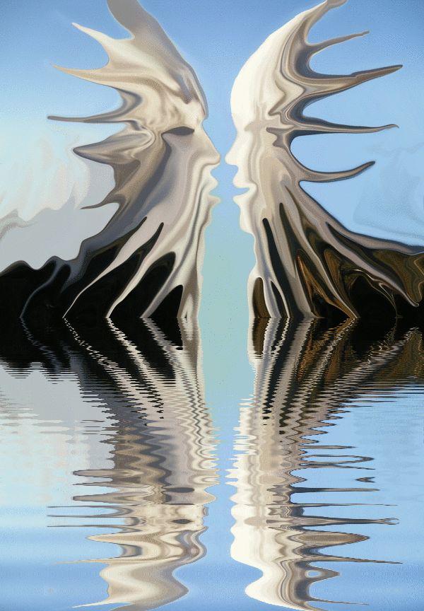 original artwork gif painting by tony danis GREECE HELLAS