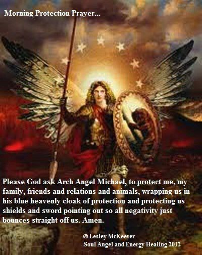 soul angel and energy healing Protection Prayer