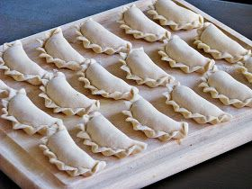 What's for dinner? Pierogi with Potato-Cheese Stuffing