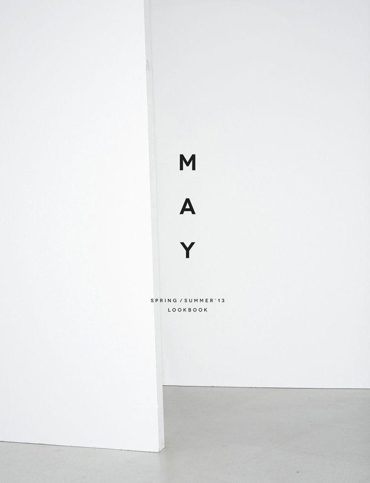 May Lookbook _ Branding | | typography / graphic design for Zara |