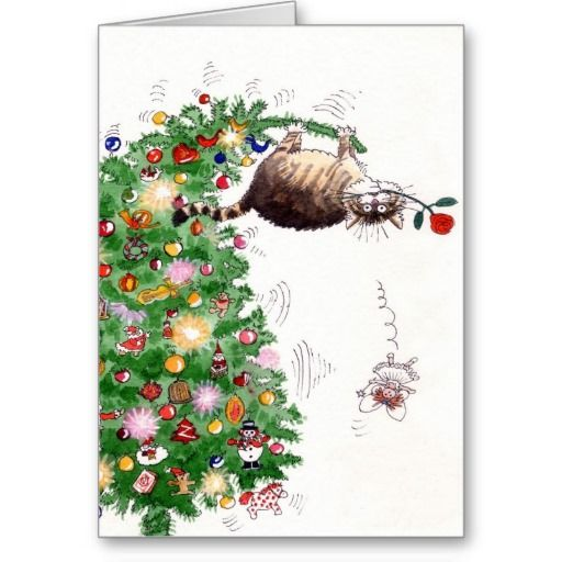 29 best christmas cards to create smiles images on pinterest merry christmas trouble card since cats are all over the place these days they may as well be all over christmas cards too go ahead smile m4hsunfo Gallery