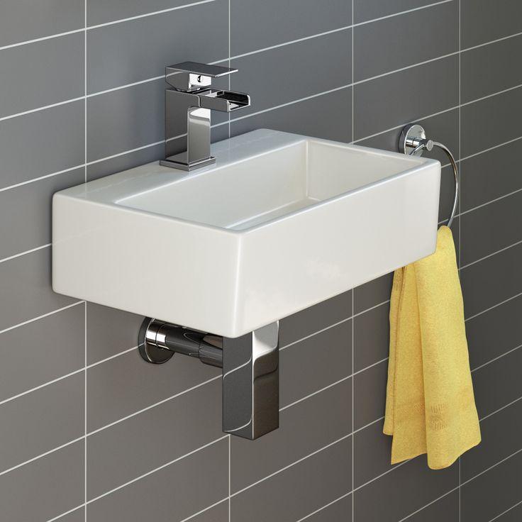 Rita Wall Hung Counter Top Basin - Medium | BathEmpire