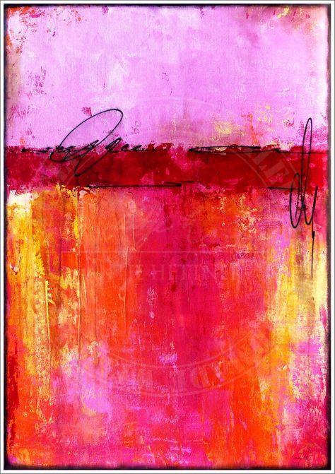 ANTJE HETTNER* Bild ORIGINAL Kunst GEMÄLDE Leinwand MALEREI XXL abstrakt ACRYL – Miri Pinselhexe