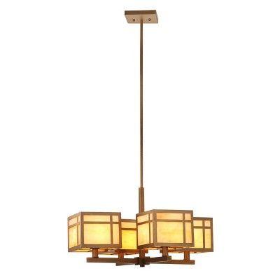 Craftsman Chandelier - Safavieh, Gold