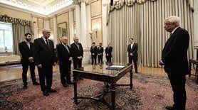 Αμίλητος ο Κουβέλης στη «διαβεβαίωση» των νέων μελών της κυβέρνησης