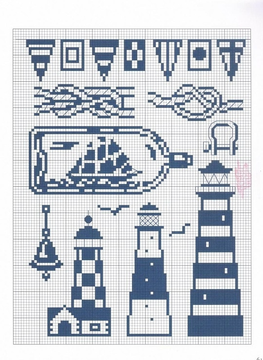 Leuchtürme, Buddelschiff,  Seemannsknoten