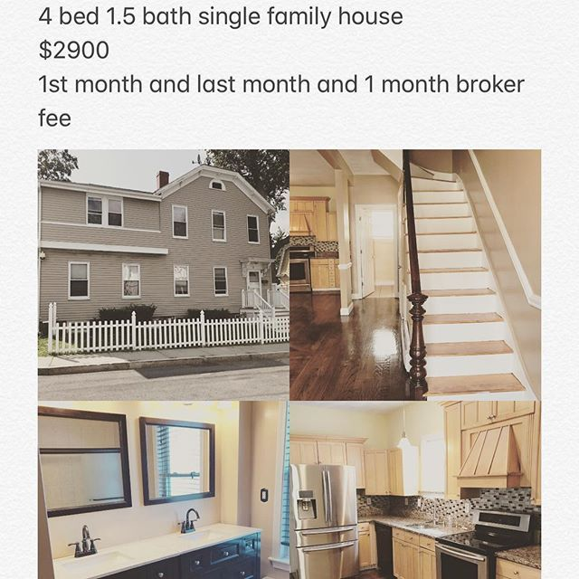 This amazing 4 bed plus an office single family for rent in #Dorchester consist of over 2000+ sqft with an amazing open floor plan.  #boston #realestate #forrent #rental #rentalmag #noexcuses #remodel #renovation #luxuryhomes #realtor #luxuryrealestate #luxuryliving #luxury #instagood #nyc #miami #amazing #views #localrealtors - posted by Jorge Sariego https://www.instagram.com/jorge_sariego - See more Real Estate photos from Local Realtors at https://LocalRealtors.com