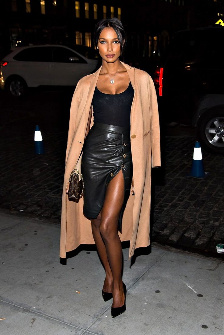 Things I Like — models-fashion111:   Jasmine Tookes at The viewing...