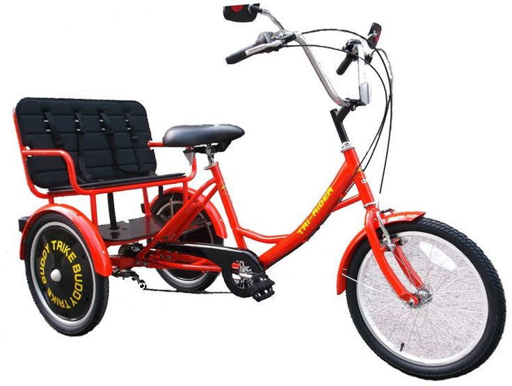 Buddy Trike 2 Passenger 6 Speed Tricycle Great Gifts