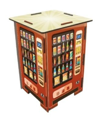 photohocker snacks drinks stool vendingmachine retro - Ausatmen Fans Ef34