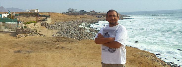 Playa Santa Rosa, zona caleta. Bonita playa solo para conocedores. #playa #lima #santarosa #santamaria #sea #beach