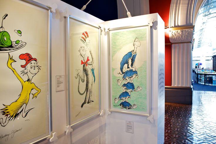 The Art of Dr Seuss Exhibition of Fun at the QVB, Sydney.  #qvb #drseuss #kids #fun #sydney