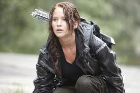 Katniss Everdeen (Jennifer Lawrence) - from my blog post: Four Things That Disappointed Me About The Hunger Games
