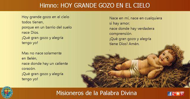 MISIONEROS DE LA PALABRA DIVINA: HIMNO LAUDES - HOY GRANDE GOZO EN EL CIELO