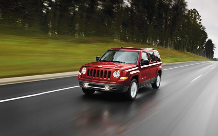 Jeep® Patriot can get you there and back with an outstanding fuel economy of up to 30 hwy mpg  (up to 28 hwy mpg  on Limited model shown).