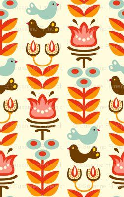 #Helga #fabric by #Hamburgerliebe