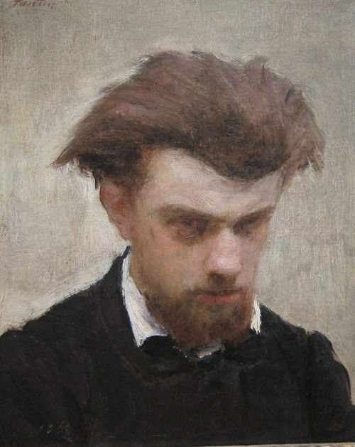 Henri Fantin-Latour (1836-1904): Self-portrait