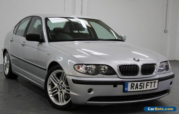 2002/51 BMW 330D SE SALOON AUTOMATIC SILVER BLACK LEATHER GOOD CONDITION !! #bmw #330dse #forsale #unitedkingdom