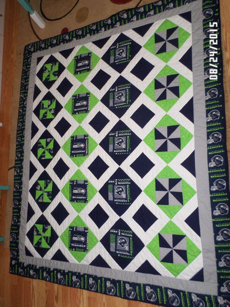 Seattle Seahawks Quilt