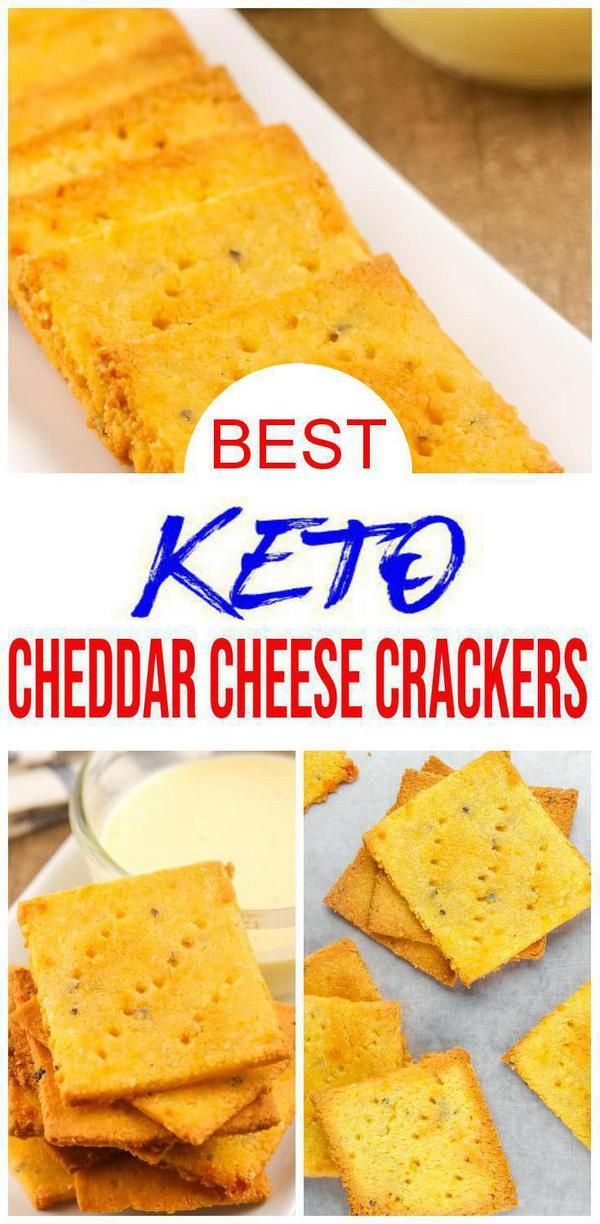 Keto Crackers Easy Cheddar Cheese Crackers Recipes W Simple Ingredients Best Cheddar Chees Low Carb Crackers Recipes Cracker Recipes Homemade Cheese Crackers