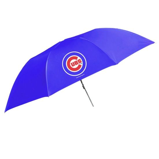 """Chicago Cubs 48"""" Folding Umbrella by Coopersburg Sports 