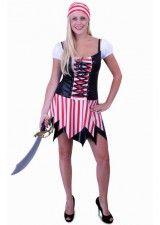 Kvinde pirat kostume fræk sørøver