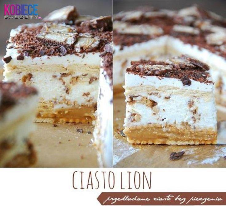 Ciasto Lion♥♥♥ Pyszne ciasto bez pieczenia...Szybko i Pysznie!!!