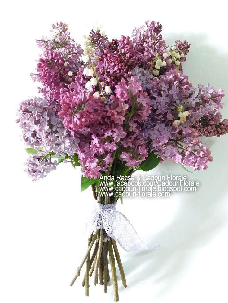 Buchet de liliac! www.cadouri-florale.com, cadouri.florale@gmail.com