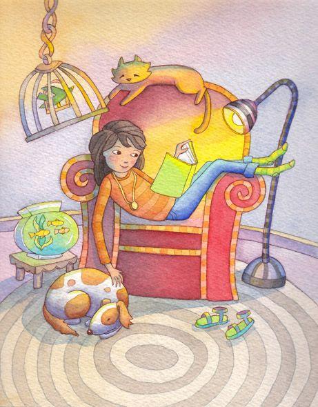 Reading Chair - Linda Prater