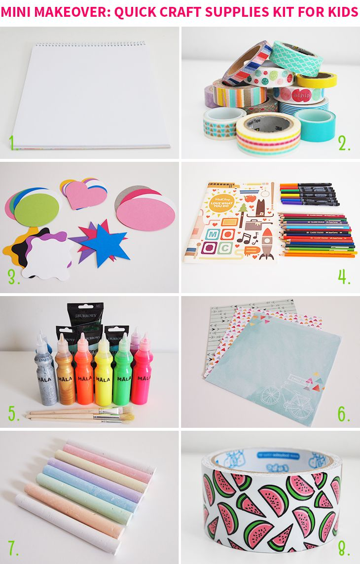 1111 best getting crafty images on pinterest child room for Best craft kits for kids
