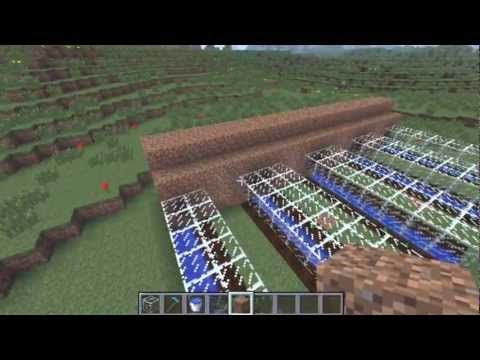 Automatic Melon Pumpkin Farm Minecraft 1.4.5 - Tutorial