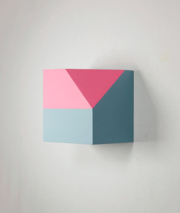 Geometric Sculptural Paintings by Zin Helena Song Photo