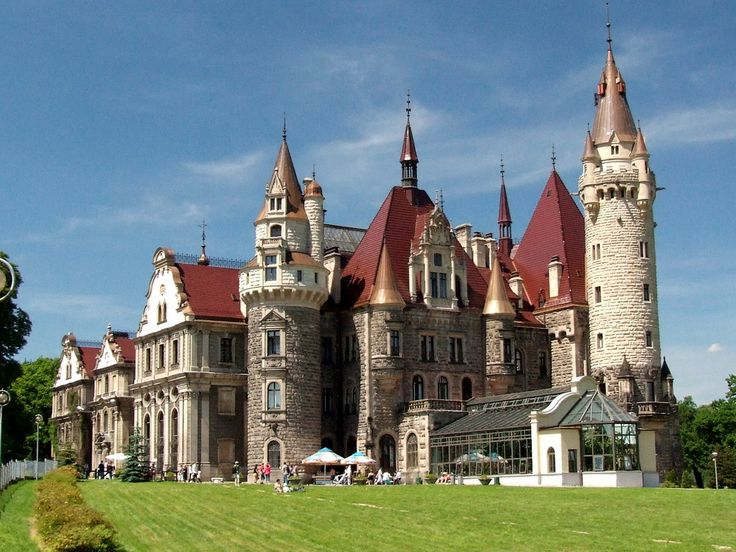 The castle in Moszna -  one of the best known monuments in the western part of Upper Silesia. The history of this building begins in the 17th century, although old cellars were found in the gardens during excavations carried out at the beginning of the 20th century.