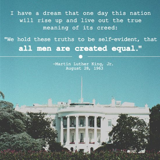 """a view of the speech i have a dream by martin luther king jr Fifty-two years after the rev dr martin luther king jr gave his famous """"i have a dream"""" speech in washington, dc, during the height of the civil rights movement, people are still."""
