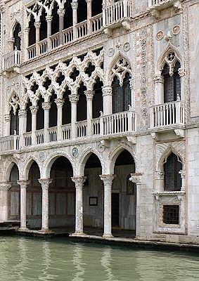 Le Palazzo de la Ca' d'Oro est sans conteste l'un des plus beaux palais en style gothique flamboyant de Venise, érigé en 1421.